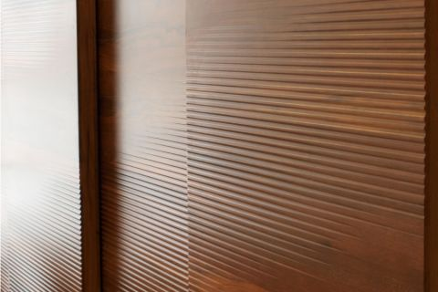 CNC carved wood panels