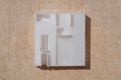 Physical model House Like Her - top view