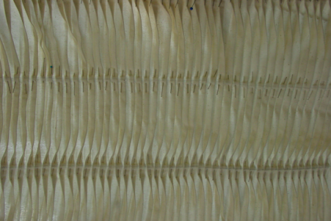 Material sample made of fabric