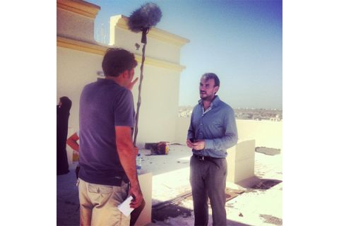 Making of SciTech TV movie on urbanism in Muscat