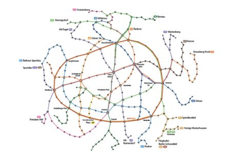 Berlin re-mapped network