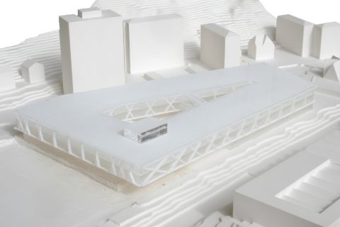 Vevey School - physical model