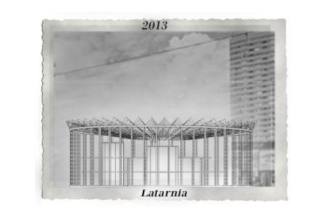 "2013 - strip the cladding and create a ""lantern"""
